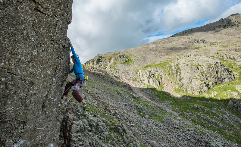 Jordan Buys – Talbot Horizon, E9 second ascent, Scafell East Buttress