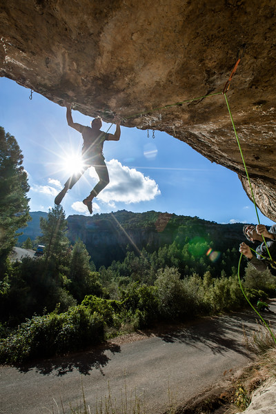 Chris Sharma – El Potro (proj), Laboratori, Margalef