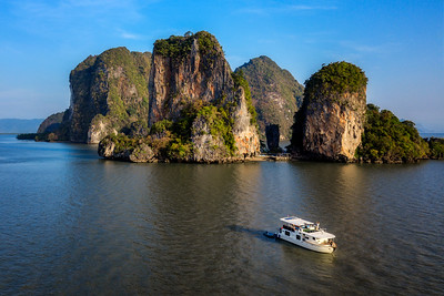 James Bond Island yacht trip