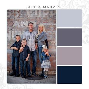 Blue-Mauves