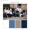 Blue-Tan