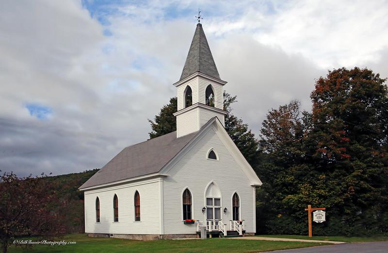 Shelburne Union Church 1832 - Gorham, New Hampshire