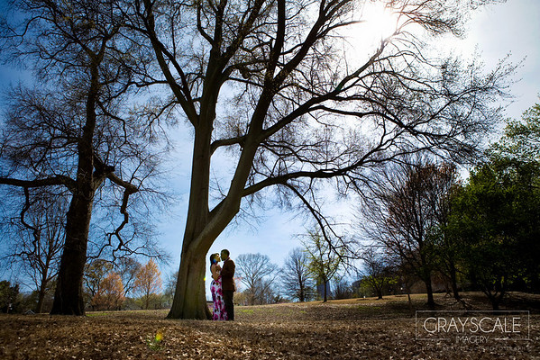 couple dance under tree at piedmont park