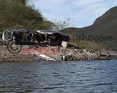 Huites325- 175 fishing camp Lake Sabinol Mexico 2005