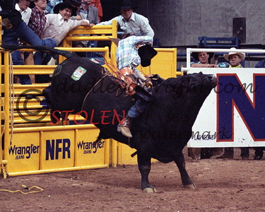 724-33ac clintBRANGER Andrews-OutlawWillie NFR1990