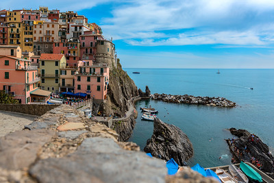 Manarola from above