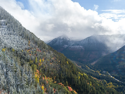 FALL CHANGES, STEVENS PASS