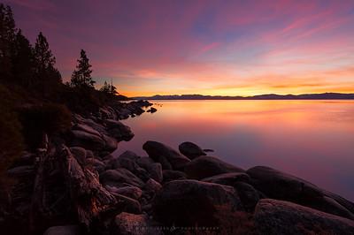 Tahoe November Solitude