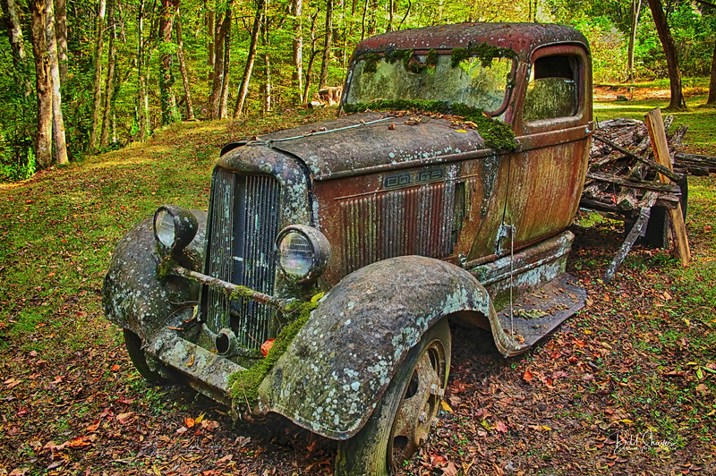 Old Dodge Truck - Ely's Mill - Smokey Mountains