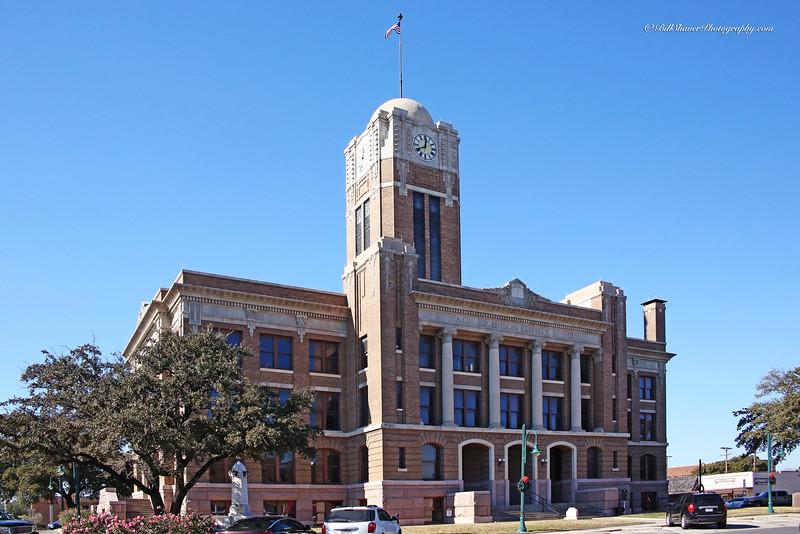 Johnson  County Court House - Cleburne, Texas