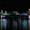 Baylor Stadium & I 35 Bridge (Red & Green)