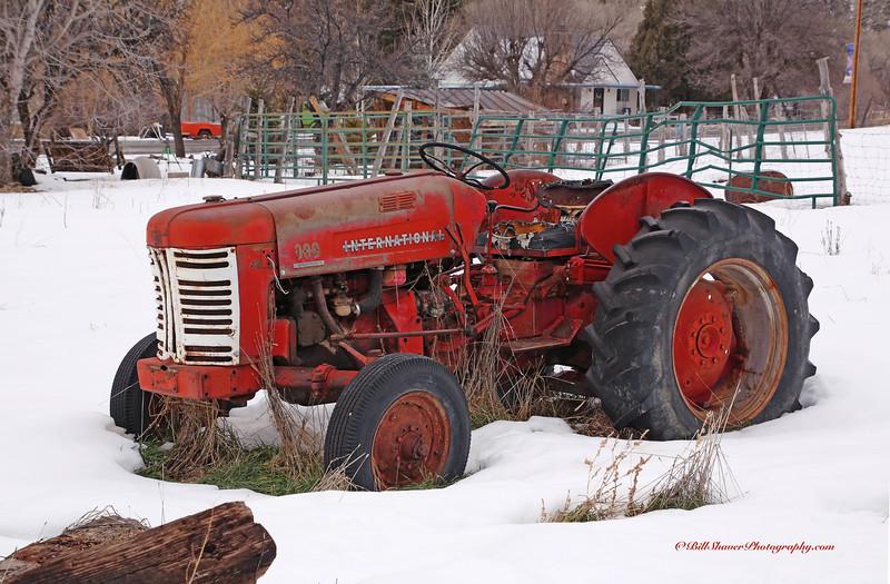 Old Tractor in Utah
