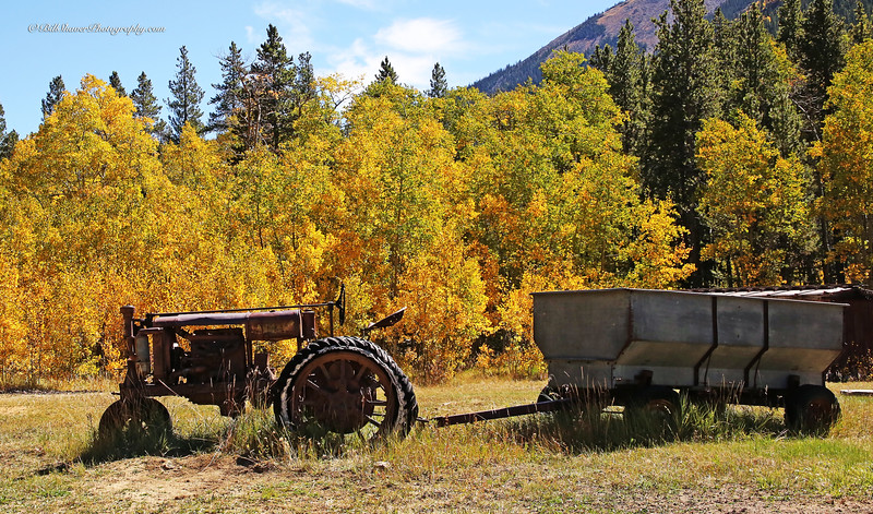 Old Tractor in Colorado