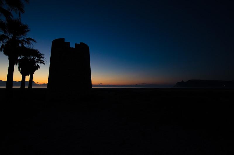 Sunrise sihouette