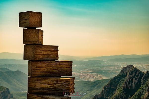 Escalera del Entendimiento, Montserrat (Spain)