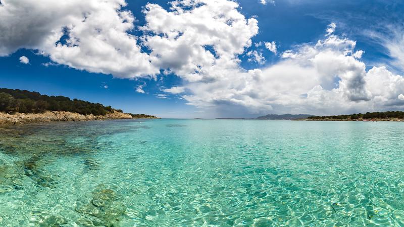 Spiaggia del Relitto, Caprera (panoramica)