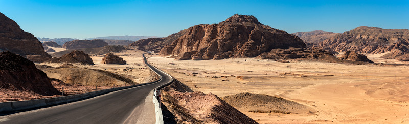 Saint Catherine, Nuweiba Road