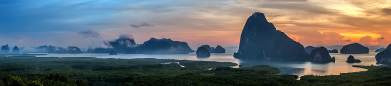 View of Phang Nga Bay