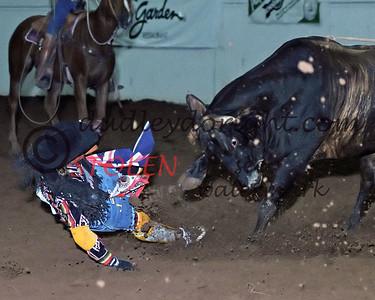 Bullfighters ad Clowns