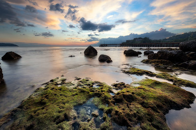 Thavorn Beach at sunset
