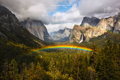 Rainbows From Tunnel View