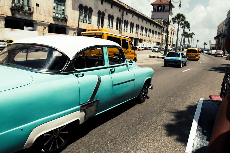 HAVANA CUBA TRAFFIC