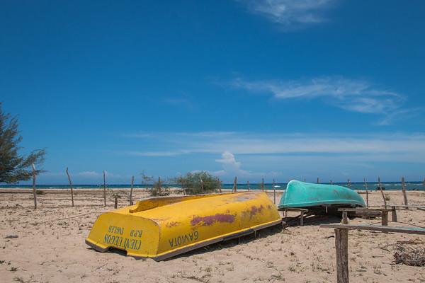 BOAT YARD, RURAL CUBA