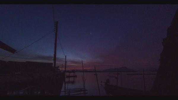 Ban Sam Chong Tai, Phang Nga, Timelapse at sunrise