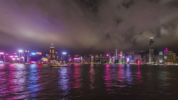 Hong Kong, Timelapse at Sunset