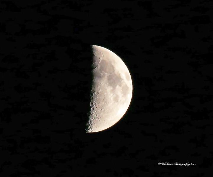First Quarter Moon - taken at Glen Eyrie