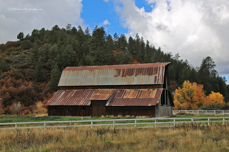 Old Barn  (near Chimney Rock Monument) Colorado