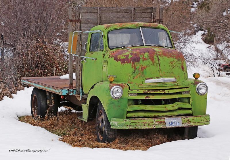 1951 Chevrolet Flatbed Truck