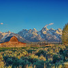 Mormon Barn  - Jackson Hole, Wyoming - 2
