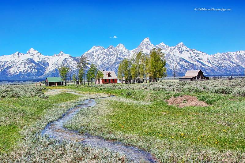 Little House on the Prairie - Jackson Hole, Wyoming