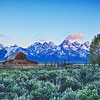Mormon Barn  - Jackson Hole, Wyoming - 1