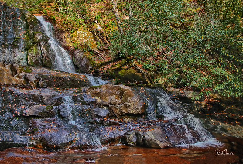 Upper Laurel Falls - Smokey Mountains