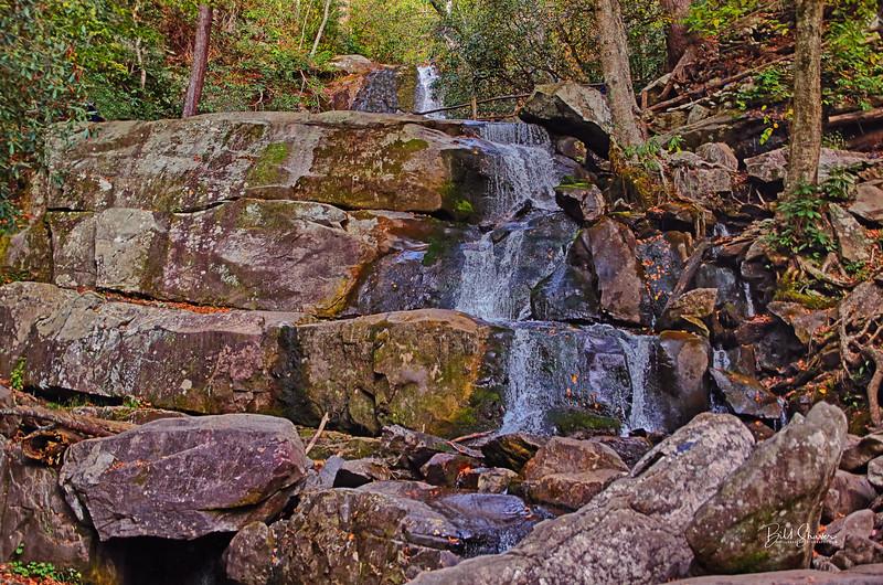 Lower Laurel Falls - Smokey Mountains