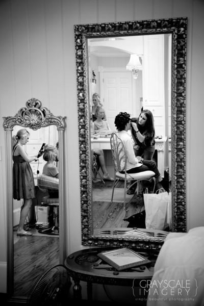 Bride Preparing
