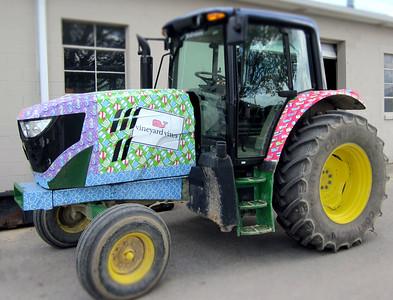 Vineyard Vines Kentucky Derby Tractor Wraps