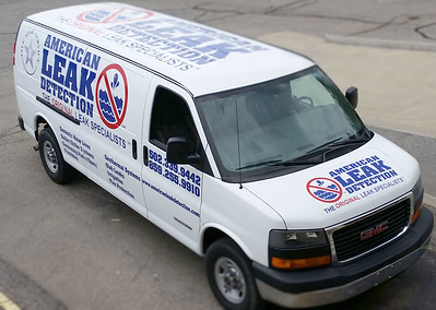 American Leak Detection Cargo Van Wrap