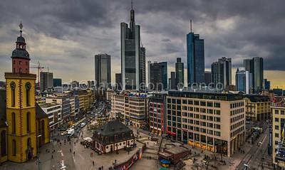 Frankfurt 2014-Skyline