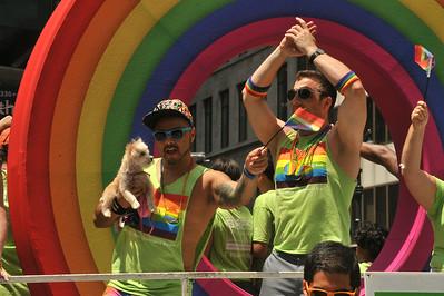 GAY  PRIDE  PARADE  2014   -   Fifth Ave,  Manhattan  NYC
