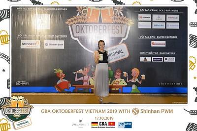 Oktoberfest | GBA Oktoberfest Việt Nam 2019 with Shinhan PWM instant print photo booth @ JW Marriott Hotel Hanoi | Chụp ảnh in hình lấy ngay tại Hà Nội | Photobooth Hanoi