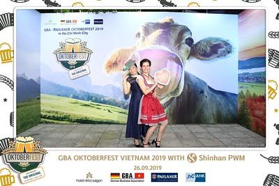 Oktoberfest | GBA Oktoberfest Việt Nam 2019 with Shinhan PWM instant print photo booth | Chụp ảnh in hình lấy liền Sự kiện tại TP. Hồ Chí Minh | Photobooth Saigon