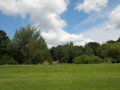 Lovely day at South Hill Park, Bracknell, England, UK