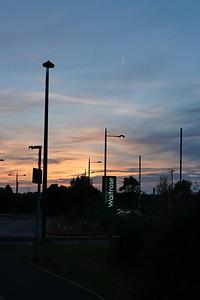 Sunset near Waitrose Bracknell
