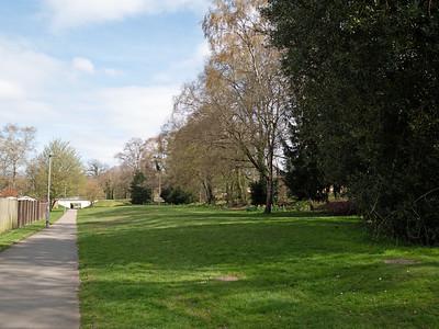 Lovely walking paths in Bracknell