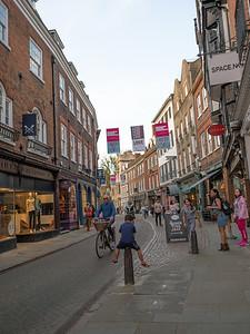 Shopping at Cambridge City Centre
