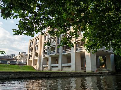 Modern Building in Cambridge University