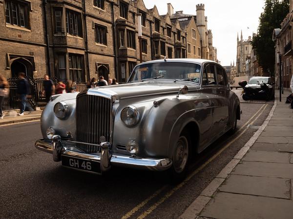 Bentley car GH46 Cambridge.
